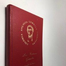 Libros de segunda mano: LAS COLONIAS GEMELAS ● COLONIA AUGUSTA GEMELLA ● ALEJADRON DEL BARCO ● KB0091. Lote 258994745