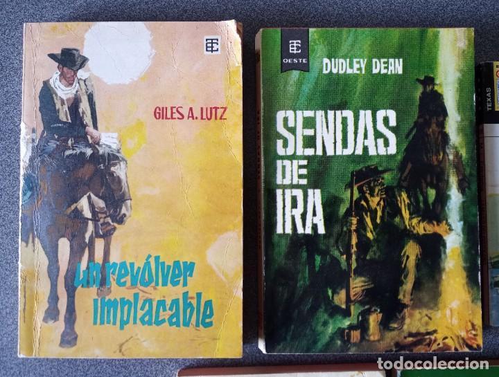 Libros de segunda mano: Lote novelas Oeste Un Revolver Impacable Sendas de Ira Estefania El Vengador El Socarrón - Foto 2 - 260051200