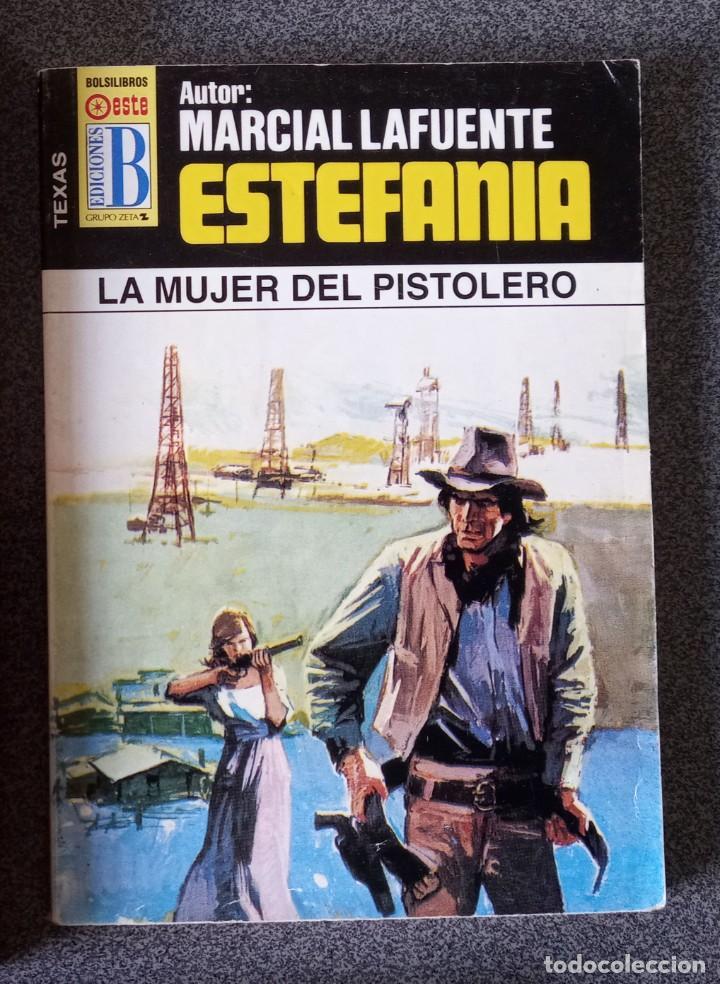 Libros de segunda mano: Lote novelas Oeste Un Revolver Impacable Sendas de Ira Estefania El Vengador El Socarrón - Foto 3 - 260051200