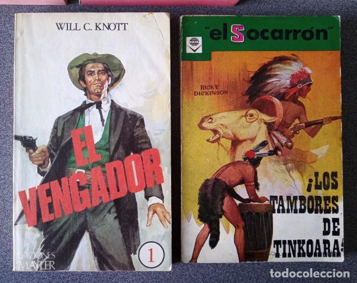 Libros de segunda mano: Lote novelas Oeste Un Revolver Impacable Sendas de Ira Estefania El Vengador El Socarrón - Foto 4 - 260051200