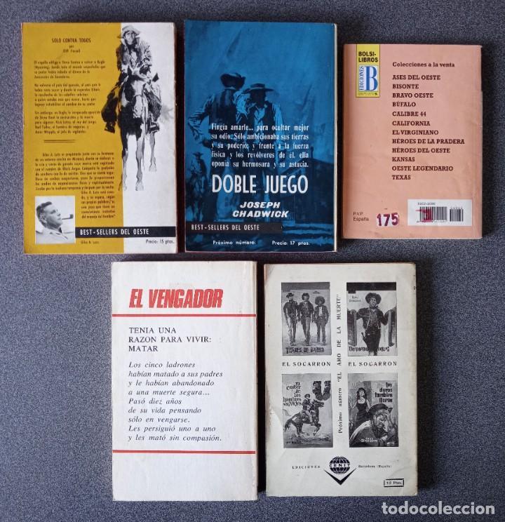 Libros de segunda mano: Lote novelas Oeste Un Revolver Impacable Sendas de Ira Estefania El Vengador El Socarrón - Foto 5 - 260051200