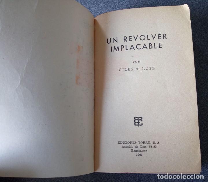 Libros de segunda mano: Lote novelas Oeste Un Revolver Impacable Sendas de Ira Estefania El Vengador El Socarrón - Foto 6 - 260051200
