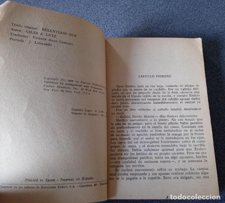 Libros de segunda mano: Lote novelas Oeste Un Revolver Impacable Sendas de Ira Estefania El Vengador El Socarrón - Foto 7 - 260051200