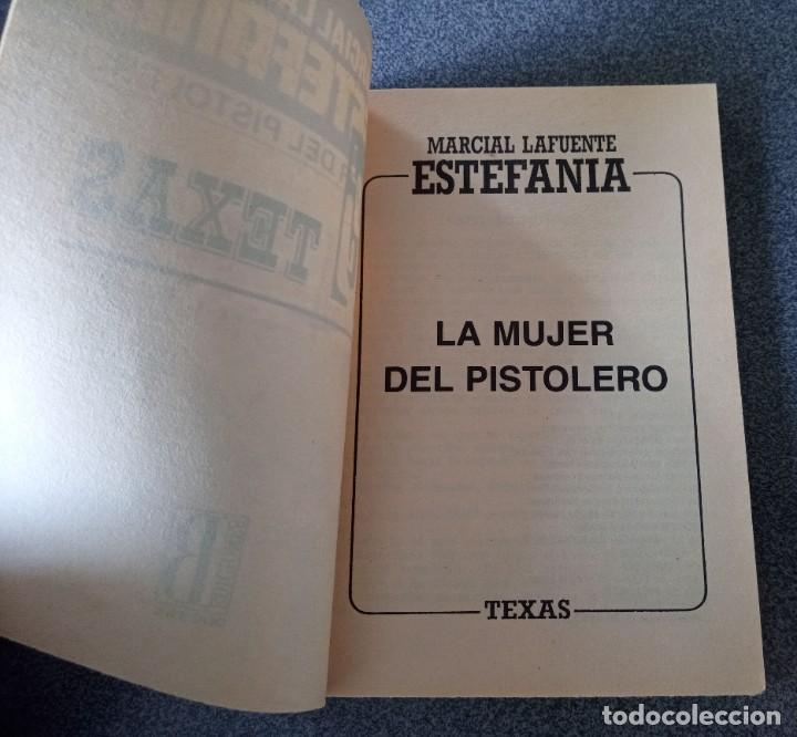 Libros de segunda mano: Lote novelas Oeste Un Revolver Impacable Sendas de Ira Estefania El Vengador El Socarrón - Foto 11 - 260051200