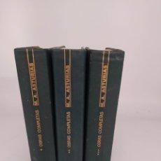 Libros de segunda mano: MIGUEL ÁNGEL ASTURIAS AGUILAR OBRAS COMPLETAS 1968 3 TOMOS. Lote 261537065