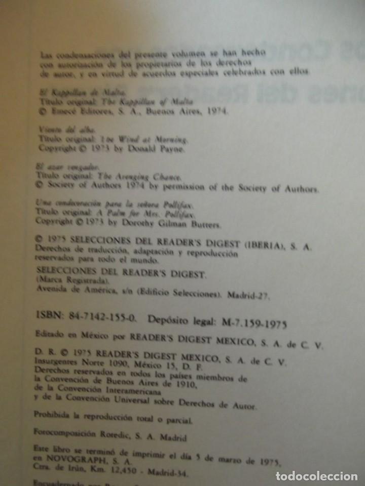 Libros de segunda mano: EX LIBRIS ! Antigua Biblioteca Reader´s Digest . 4 obras con 580 pag - Foto 4 - 261691765
