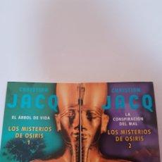 Libros de segunda mano: LOS MISTERIOS DE OSIRIS. Lote 261967885