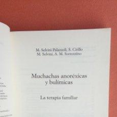 Libros de segunda mano: MUCHACHAS ANORÉXICAS Y BULÍMICAS. M. SELVINI PALAZZOLI. EDICIONES PAIDÓS.. Lote 262901980