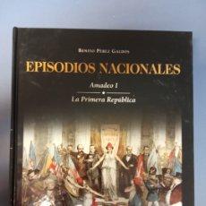 Libros de segunda mano: EPISODIOS NACIONALES 22 - GALDÓS. Lote 262908985