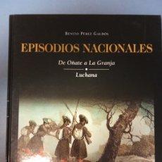Libros de segunda mano: EPISODIOS NACIONALES 12- GALDÓS. Lote 262909220