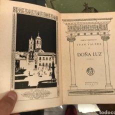 Libros de segunda mano: DOÑA LUZ. JUAN VARELA. BIBLIOTECA NUEVA. 1937. Lote 263811790