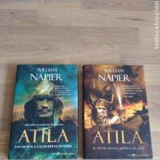 Libros de segunda mano: ATILA. WILLIAM NAPIER. LOS HUNOS A LAS PUERTAS DE ROMA Y EL FIN DEL MUNDO VENDRÁ DEL ESTE.. Lote 269828353
