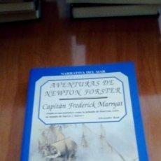Libros de segunda mano: AVENTURAS DE NEWTON FORSTER - CAPITAN FREDERICK MARRYAT. Lote 269934793
