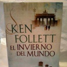 Libros de segunda mano: KEN FOLLET. EL INVIERNO DEL MUNDO .PLAZA JANES. Lote 269975163