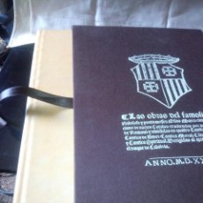 Libros de segunda mano: ~~~~ EDICIÓN FACSIMIL, AUSIAS MARCH 1400 - 1459 CAVALLER LITERAT, DE LAS OBRAS DEL FILÓSOFO Y P ~~~~. Lote 270350323
