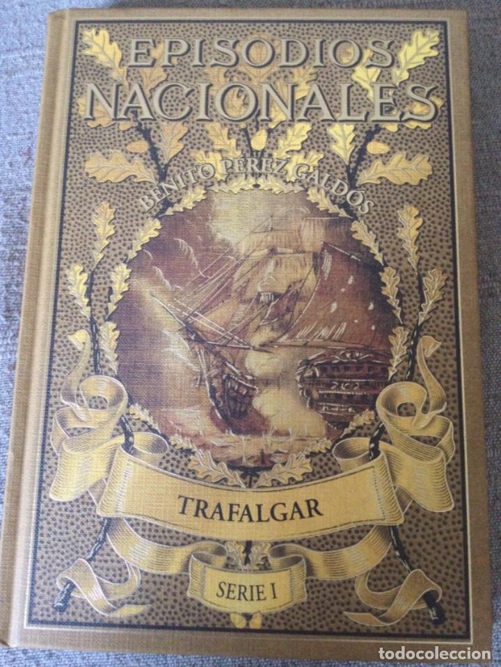 Libros de segunda mano: Episodios Nacionales. Benito Perez Galdos. 6 Tomos Serie I Nuevos Fascimil del Original de 1881 - Foto 3 - 271136028