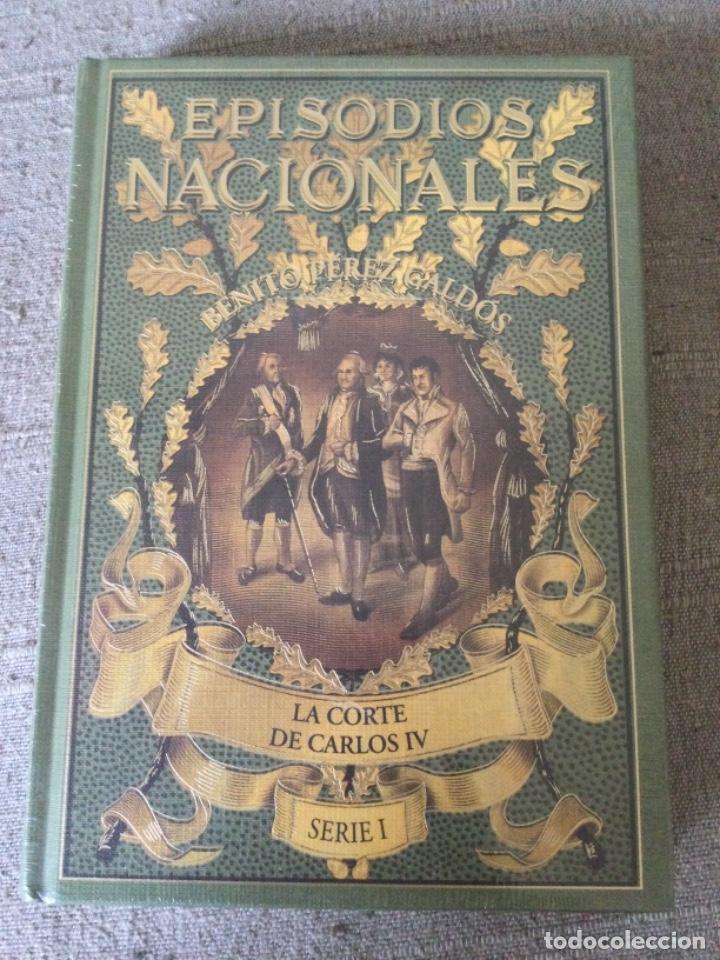 Libros de segunda mano: Episodios Nacionales. Benito Perez Galdos. 6 Tomos Serie I Nuevos Fascimil del Original de 1881 - Foto 4 - 271136028