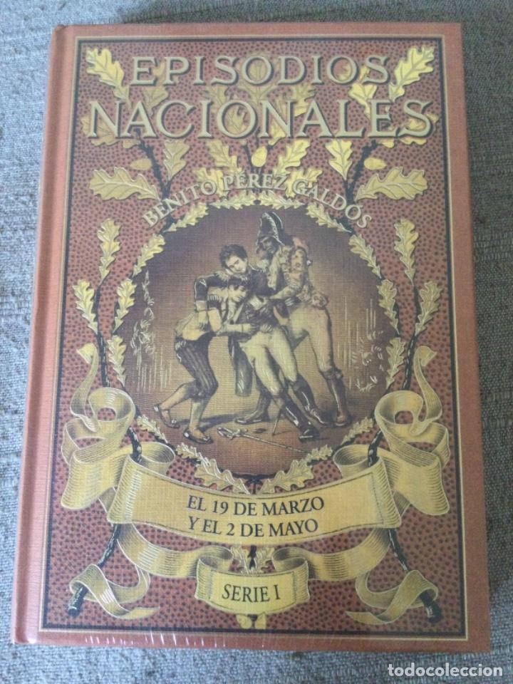 Libros de segunda mano: Episodios Nacionales. Benito Perez Galdos. 6 Tomos Serie I Nuevos Fascimil del Original de 1881 - Foto 5 - 271136028