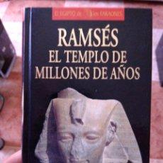 Libros de segunda mano: CHRISTIAN JACQ RAMSÉS EL TEMPLO DE MILLONES DE AÑOS EL EGIPTO DE LOS FARAONES PLANETA DEAGOSTINI. Lote 271547928