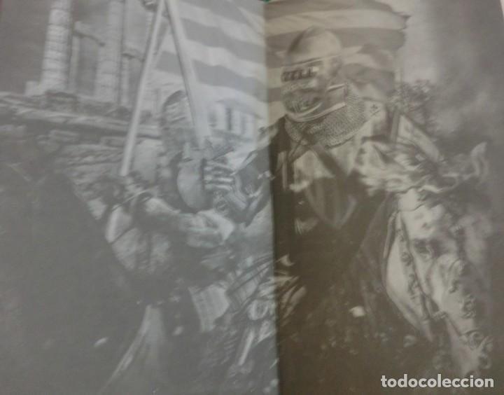 Libros de segunda mano: LA VENGANZA CATALANA. CRÓNICA DE LOS ALMOGÁVARES (ILDEFONSO ARENAS) ACABADO COMPRAR EN LIBRERIA - Foto 5 - 273413963