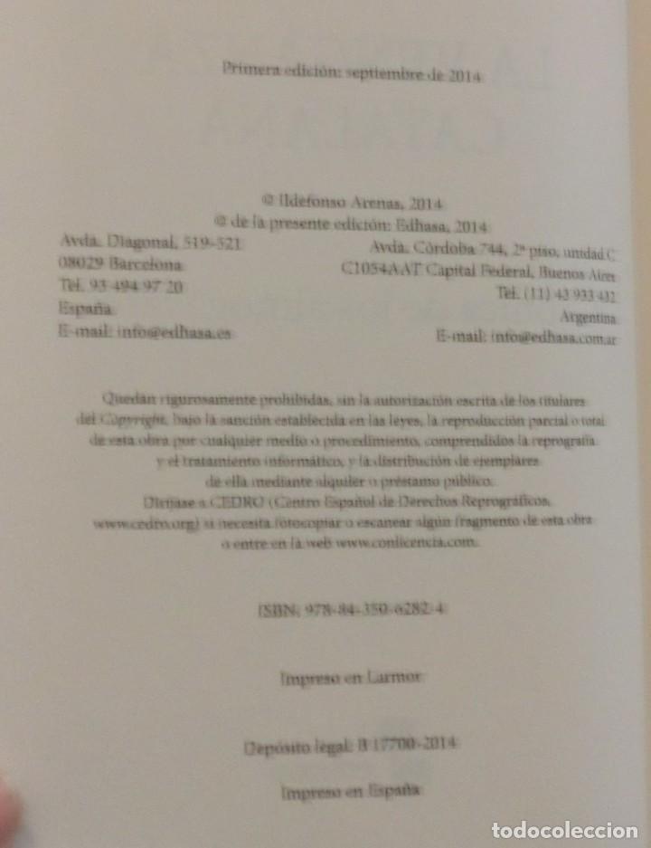 Libros de segunda mano: LA VENGANZA CATALANA. CRÓNICA DE LOS ALMOGÁVARES (ILDEFONSO ARENAS) ACABADO COMPRAR EN LIBRERIA - Foto 6 - 273413963