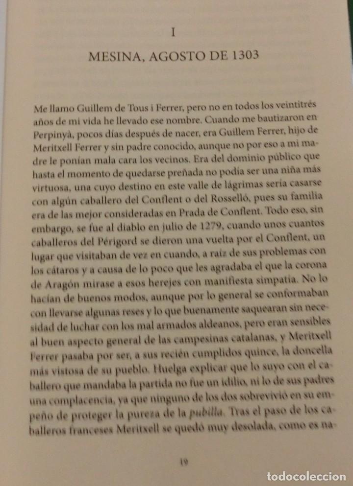 Libros de segunda mano: LA VENGANZA CATALANA. CRÓNICA DE LOS ALMOGÁVARES (ILDEFONSO ARENAS) ACABADO COMPRAR EN LIBRERIA - Foto 9 - 273413963