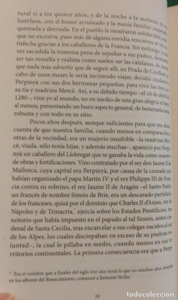 Libros de segunda mano: LA VENGANZA CATALANA. CRÓNICA DE LOS ALMOGÁVARES (ILDEFONSO ARENAS) ACABADO COMPRAR EN LIBRERIA - Foto 10 - 273413963