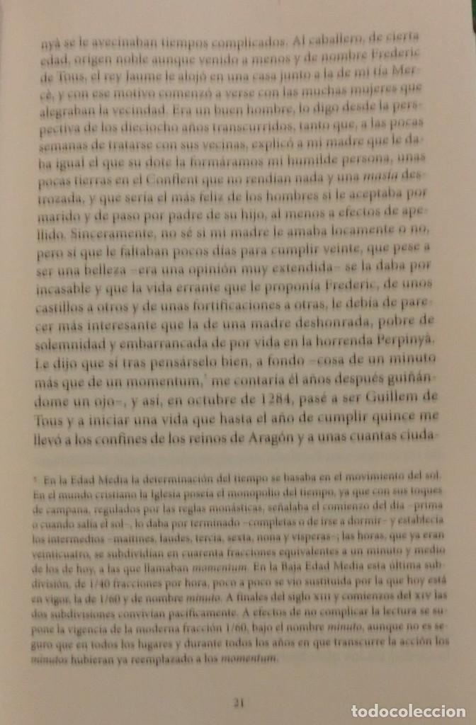 Libros de segunda mano: LA VENGANZA CATALANA. CRÓNICA DE LOS ALMOGÁVARES (ILDEFONSO ARENAS) ACABADO COMPRAR EN LIBRERIA - Foto 11 - 273413963