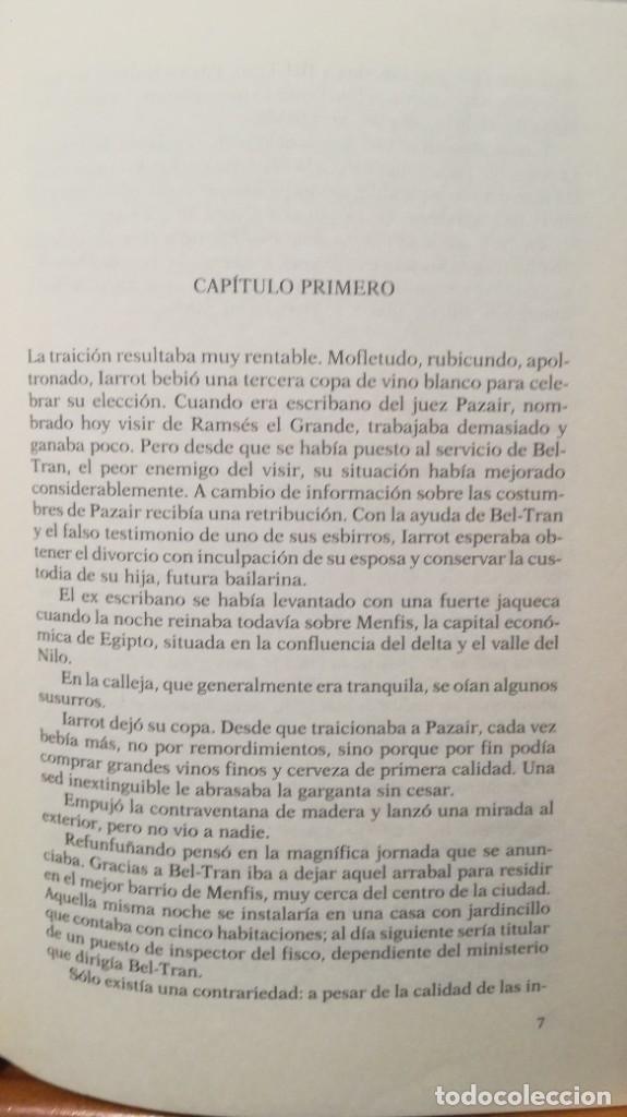 Libros de segunda mano: LA JUSTICIA DEL VISIR -- CHRISTIAN JACQ - Foto 8 - 273915388
