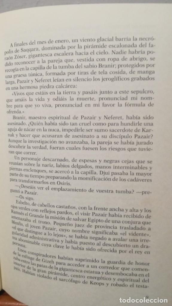 Libros de segunda mano: LA JUSTICIA DEL VISIR -- CHRISTIAN JACQ - Foto 10 - 273915388