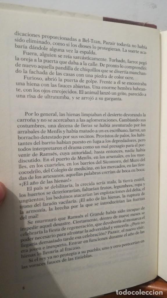Libros de segunda mano: LA JUSTICIA DEL VISIR -- CHRISTIAN JACQ - Foto 16 - 273915388