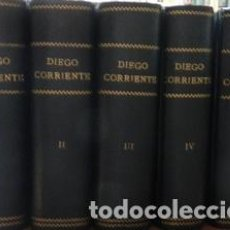 Libros de segunda mano: DIEGO CORRIENTE. NOVELA POR RAFAEL DEL CASTILLO, 5 TOMOS. ILUSTRACIONES DE ANTONIO ALBARRAN - DEL CA. Lote 276812828