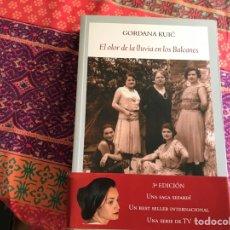 Libros de segunda mano: EL OLOR DE LA LLUVIA EN LOS BALCANES. GORDANA KUIC. FUNAMBULISTA. Lote 278600298