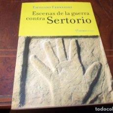 Livros em segunda mão: ESCENAS DE LA GUERRA CONTRA SERTORIO, EMILIANO FERNÁNDEZ. TREA LETRAS NARRATIVA 1ª ED. 2.000. Lote 287922513