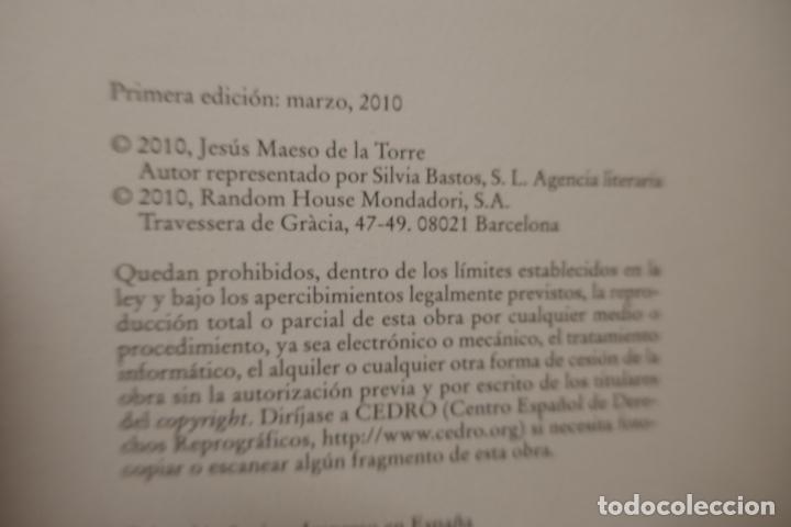Libros de segunda mano: LA CÚPULA DEL MUNDO / JESÚS MAESO DE LA TORRE / GRIJALBO 1ª EDICIÓN 2010 - Foto 6 - 288304038