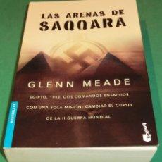 Libros de segunda mano: LAS ARENAS DE SAQQARA - GLENN MEADE (LIBRO NUEVO). Lote 289529613