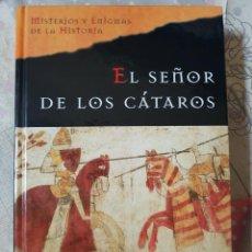 Libros de segunda mano: EL SEÑOR DE LOS CÁTAROS POR HANNY ALDERS. EN TAPAS DURAS. Lote 293844328