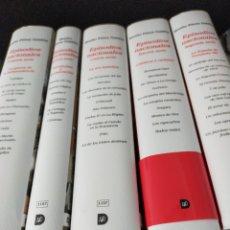 Libros de segunda mano: EPISODIOS NACIONALES GALDÓS 5 TOMOS NUEVOS DE TIENDA DESTINO. Lote 293872243