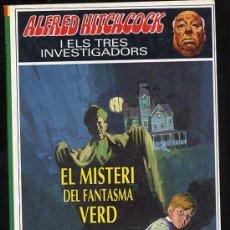Libros de segunda mano: ALFRED HITCHOCK I ELS TRES INVESTIGADORS * EL MISTERI DEL FANTASMA VERD* Nº 4. Lote 27214066