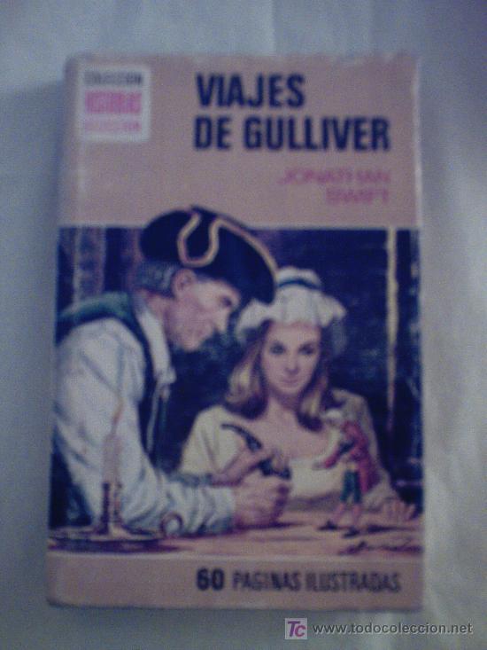 VIAJES DE GULLIVER DE JONATHAN SWIFT. (Libros de Segunda Mano - Literatura Infantil y Juvenil - Novela)