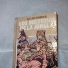 Libros de segunda mano: LOS MISTERIOS DE LA JUNGLA DE JULIO VERNE. Lote 13787240