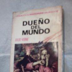 Libros de segunda mano: DUEÑO DEL MUNDO DE JULIO VERNE. Lote 13787320