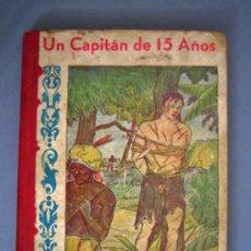 Libros de segunda mano: UN CAPITÁN DE 15 AÑOS, JULIO VERNE, EDITOR JOSE BALLESTA, VICTORIA 2158BUENOS AIRES.. Lote 27309257