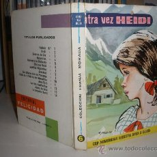 Libros de segunda mano: OTRA VEZ HEIDI. Lote 51653911