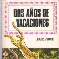 Libros de segunda mano: COLECCION HISTORIAS INFANTIL - BRUGUERA - DOS AÑOS DE VACACIONES ** 2ª 1975. Lote 17280382
