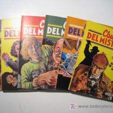 Libros de segunda mano: CLUB DEL MISTERIO - BRUGUERA - LOTE 6 NUMS. Lote 17641168