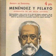 Libros de segunda mano: REVISTA LITERARIA, ARTE GRÁFICA, NOVELAS Y CUENTOS, MENÉNDEZ Y PELAYO, BIOGRAFÍA DE UN GRAN ESPAÑOL. Lote 17767142