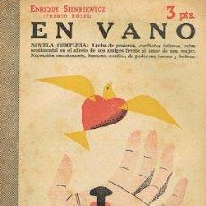 Libros de segunda mano: REVISTA LITERARIA, ARTE GRÁFICA, NOVELAS Y CUENTOS, EN VANO. Lote 17767638