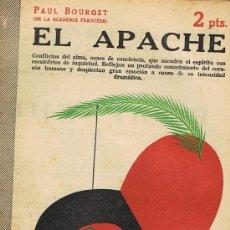 Libros de segunda mano: REVISTA LITERARIA, ARTE GRÁFICA, NOVELAS Y CUENTOS, EL APACHE. Lote 17767948