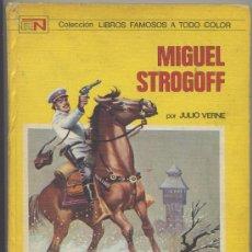 Libros de segunda mano: MIGUEL STROGOFF - JULIO VERNE - NOVARO 1973 (TAPA DURA). Lote 24531517
